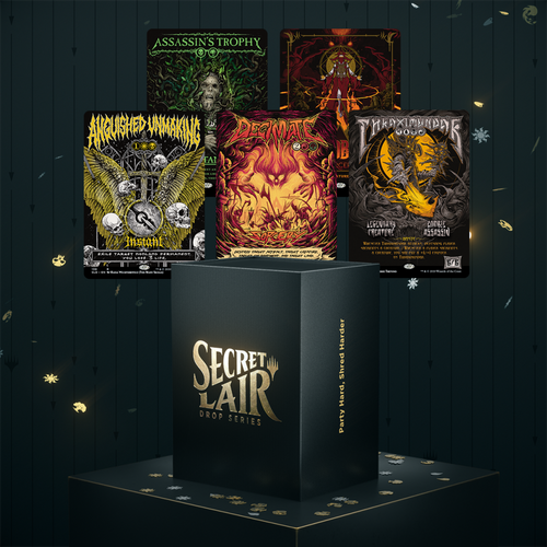 Party Hard, Shred Harder—Secret Lair, Magic: the Gathering