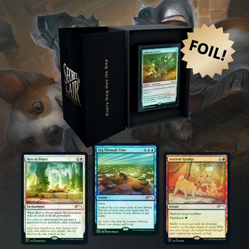 Every Dog Has Its Day, Foil—Secret Lair, Magic: the Gathering  (Sold Out)