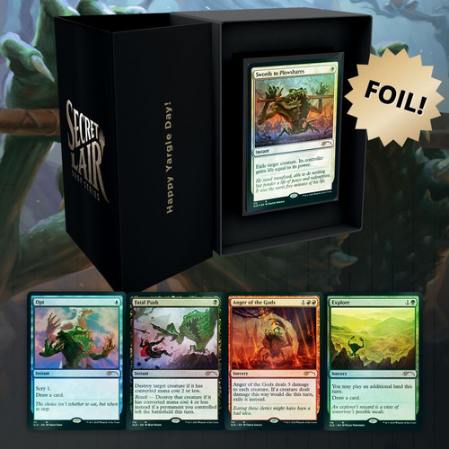 Happy Yargle Day, Foil—Secret Lair, Magic: the Gathering  (Sold Out)