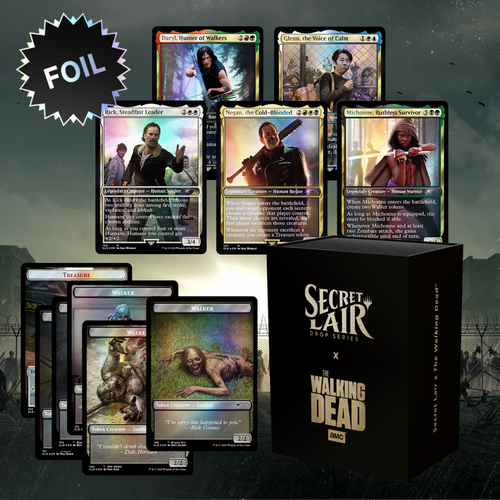 The Walking Dead—Secret Lair, Magic: the Gathering  (Sold Out)