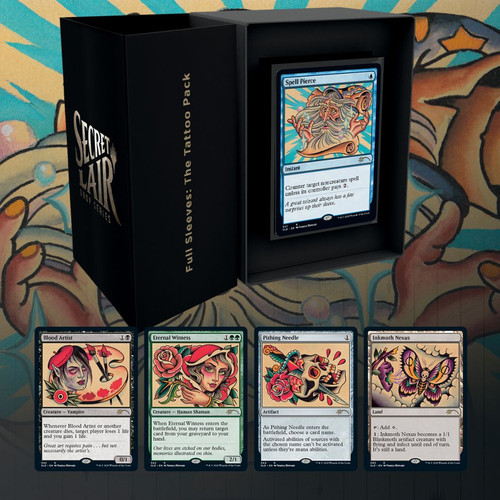 Full Sleeves: The Tattoo Pack—Secret Lair, Magic: the Gathering  (Sold Out)
