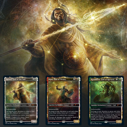 Theros Stargazing #1: Heliod—Secret Lair, Magic: the Gathering (Sold Out)