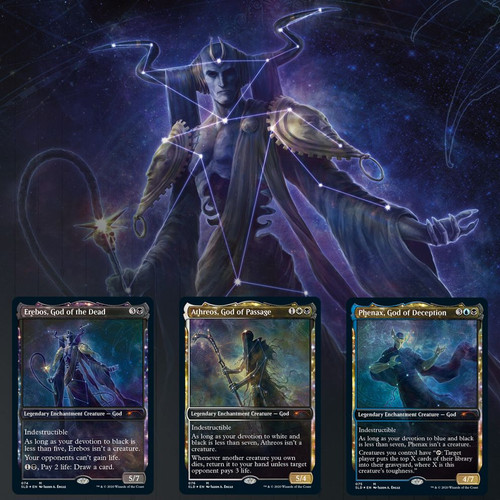 Theros Stargazing #3: Erebos—Secret Lair, Magic: the Gathering  (Sold Out)