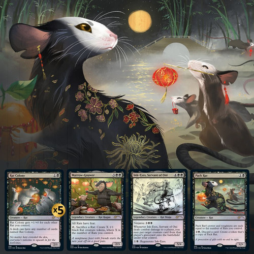 Year of the Rat—Secret Lair, Magic: the Gathering  (Sold Out)