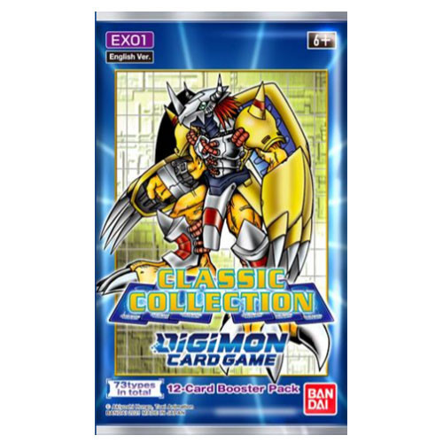 Classic Collection Booster-Digimon TCG (Allocated) (On Order)