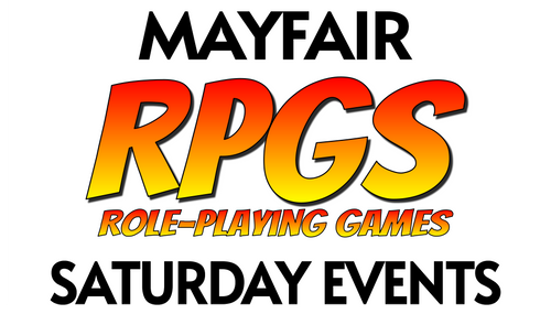 D&D and RPGs—Saturday—Mayfair (In-Store Event Only)