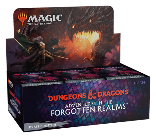 Draft Booster, Adventures in the Forgotten Realms—Magic: the Gathering