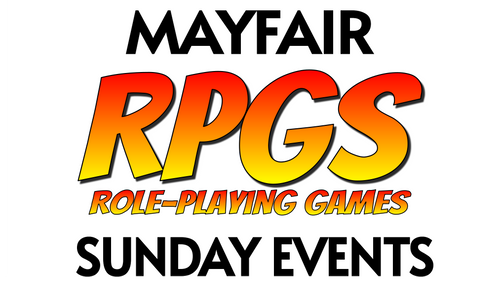 D&D and RPGs—Sunday—Mayfair (In-Store Event Only)