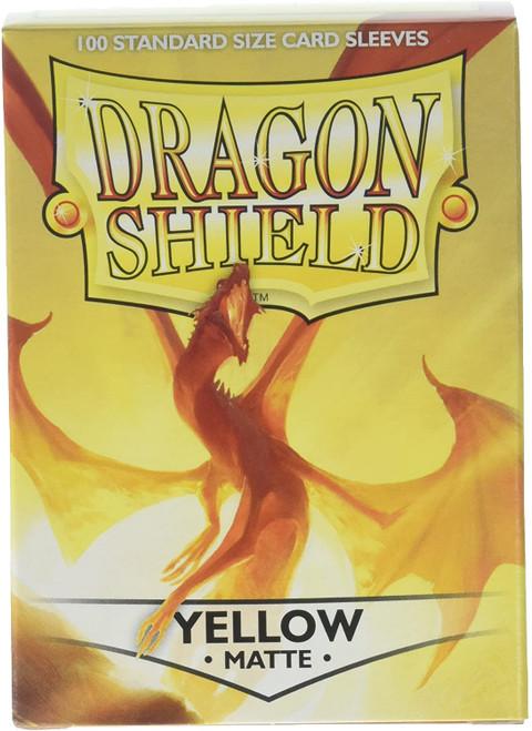 Yellow Dragon Shield sleeves (100)