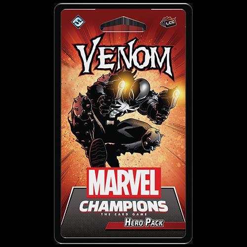 Venom front of pack