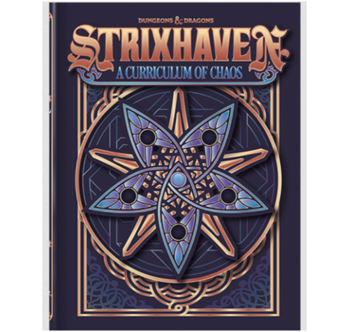 Strixhaven: Curriculum of Chaos, Alternate Art Cover—Dungeons & Dragons (Pre-Order)