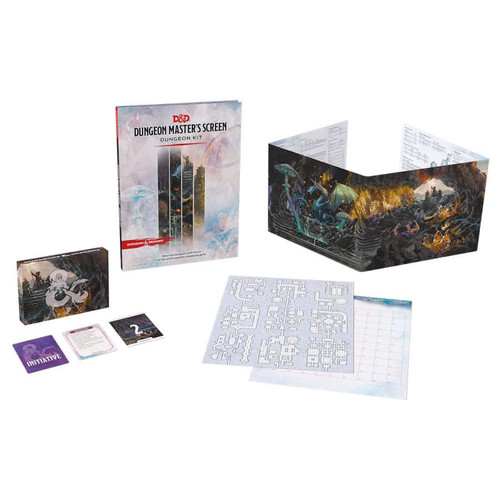 Dungeon Master's Screen all components