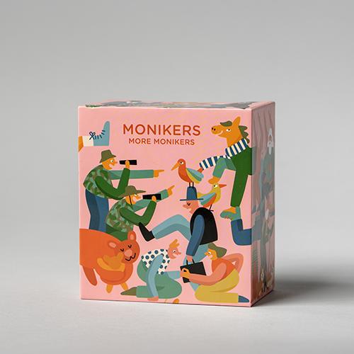 More Monikers box