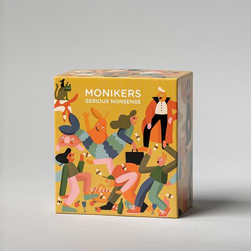 Monikers: Serious Nonsense (SUSD) box