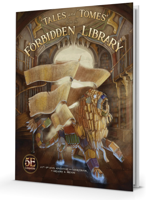 Tales and Tomes from the Forbidden Library, 5E Compatible