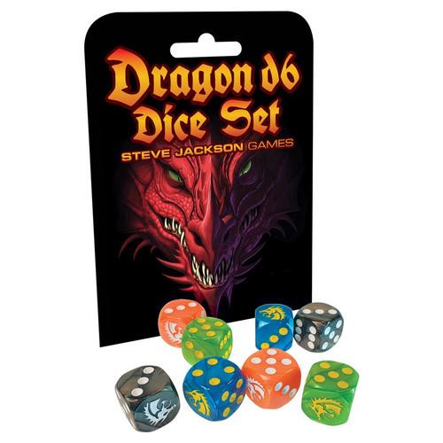 Dragon D6 Dice