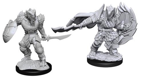 Dragonborn Fighter Male—D&D Nolzur's Marvelous Miniatures  W15