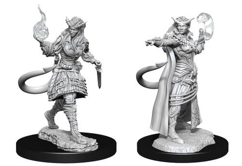 Tiefling Sorcerer Female—D&D Nolzur's Marvelous Miniatures  W15