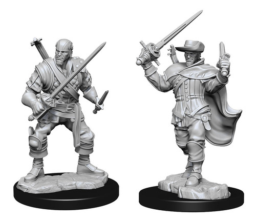 Human Bard Male—D&D Nolzur's Marvelous Miniatures  W15