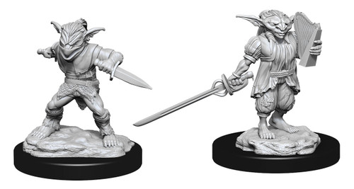 Male Goblin Rogue & Female Goblin Bard—D&D Nolzur's Marvelous Miniatures  W15
