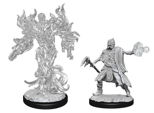 Allip & Deathlock—D&D Nolzur's Marvelous Miniatures  W15
