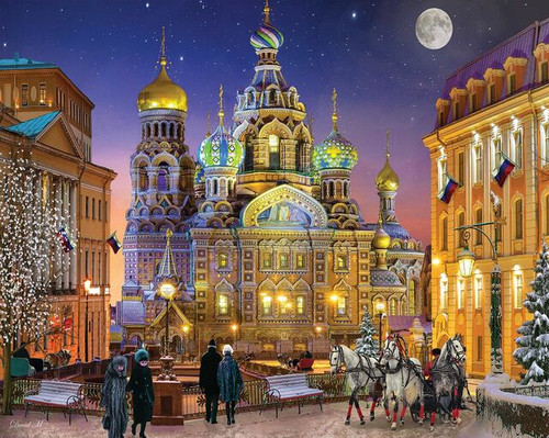 Russian Christmas 1000pc