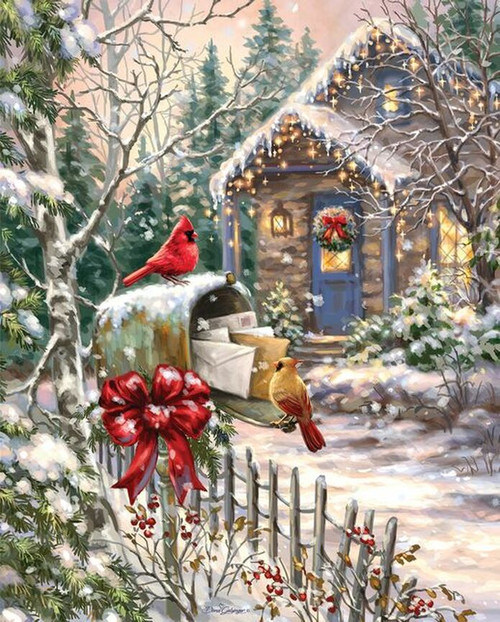Cardinal Cottage 1000pc