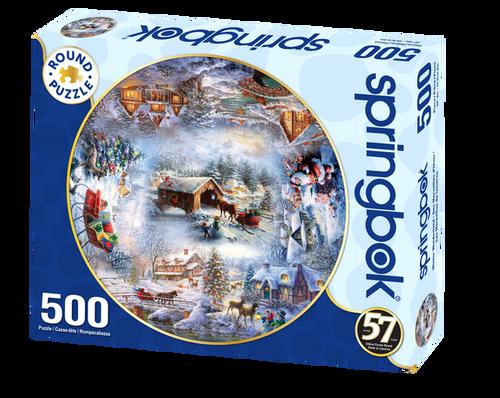 Winter Wonderland 500pc Round