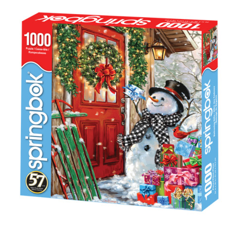 Delivering Gifts 1000pc