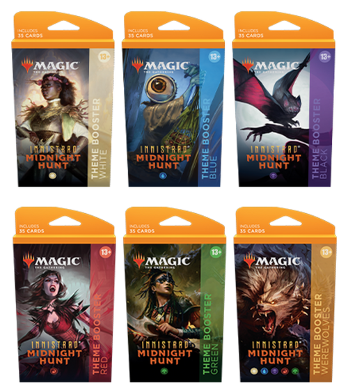 Theme Booster, Innistrad Midnight Hunt—Magic: the Gathering (1 of 6 Variants) (Pre-Order)