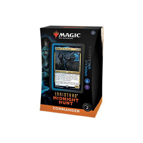 Commander Deck—Undead Unleashed, Innistrad Midnight Hunt—Magic: the Gathering (Pre-Order)
