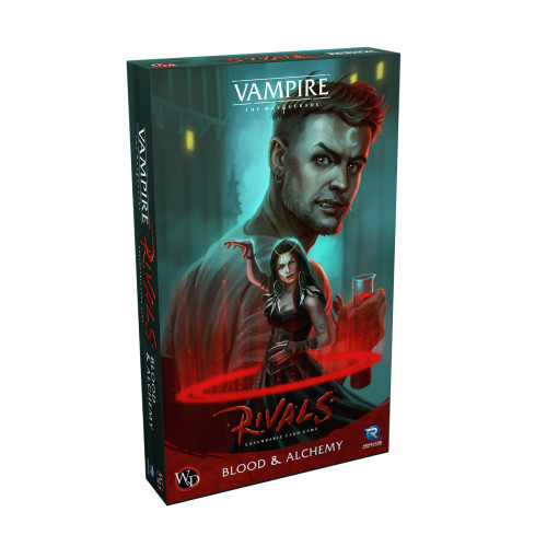 Vampire the Masquerade: Rivals–Blood & Alchemy Expansion (Pre-Order)