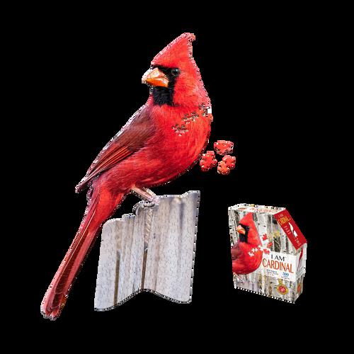 I Am Cardinal 300pc Shaped Puzzle