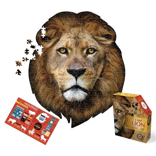 I Am Lion 550pc Shaped Puzzle