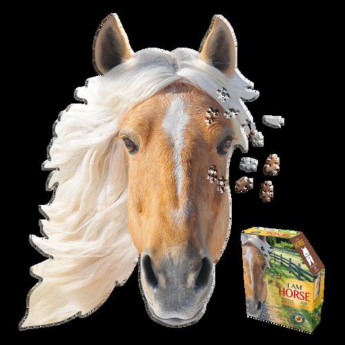 I Am Horse 550pc Shaped Puzzle