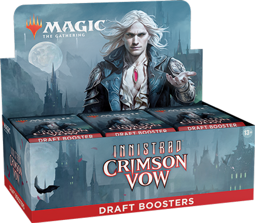 Display of Draft Boosters