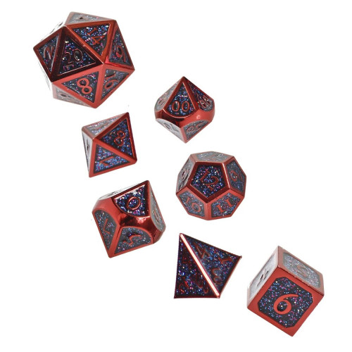 Fiend Touched, Metal Dice Set