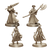 Bloodborne: The Board Game hunter minis