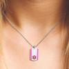 "Urban Tag Medical Alert Necklace, Emergency Medical ID Necklace, Medical Dog Tag- 24/28"" - Style and Color"