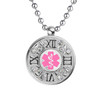 """Timeless Custom Engraved Medical Alert Necklace, Emergency Medical ID Necklace, 24/28"""" Stainless Steel Chain -Style and Color"""