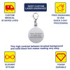 """Mix N Match 9/16"""" (14.2mm) Custom Engraved Medical Alert ID Charms - Color"""