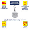 "Mix N Match 5/8"" (15.8mm) Custom Engraved Medical Alert ID Charms"