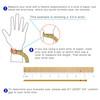 How to  measure your wrist for the custom engraved  medical alert bracelet