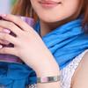 Mesh Adjustable Custom Engraved Medical Alert Bracelets, Emergency Medical ID Bands- Style
