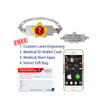 Medical Alert App and wallet card for Figaro with Super Star Tag