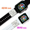 Pure Titanium ID/Medical ID Sliders for Apple Watch Series 1-5, 42/44 mm or 38/40 mm - Size