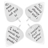 Guitar Pick Stainless Steel Personalized Necklace with Ball Chain OR Custom Keychain, Custom Engraved Message