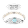 Divoti Custom Engraved Pura Medical Alert Bracelet - Filigree Tag