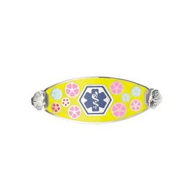 Divoti Custom Engraved Medical Alert Bracelet - Color Palette Tag