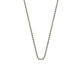 Pure Titanium Ball 24/28-Inch Chain  for Medical Alert ID Necklaces - Size